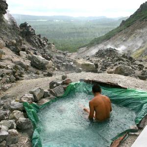 硫黄山温泉(北海道)