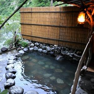 黒部峡谷 名剣温泉(富山県)