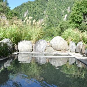 山小屋 祖母谷温泉(富山県)