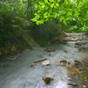 登別温泉 大湯沼川の天然足湯(旧野湯)(北海道)